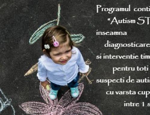 Autism START – Program de evaluare și diagnosticare – auto-finanțat AUTISM VOICE