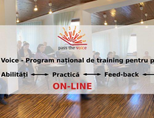 Pass the Voice – Training online gratuit pentru parinti